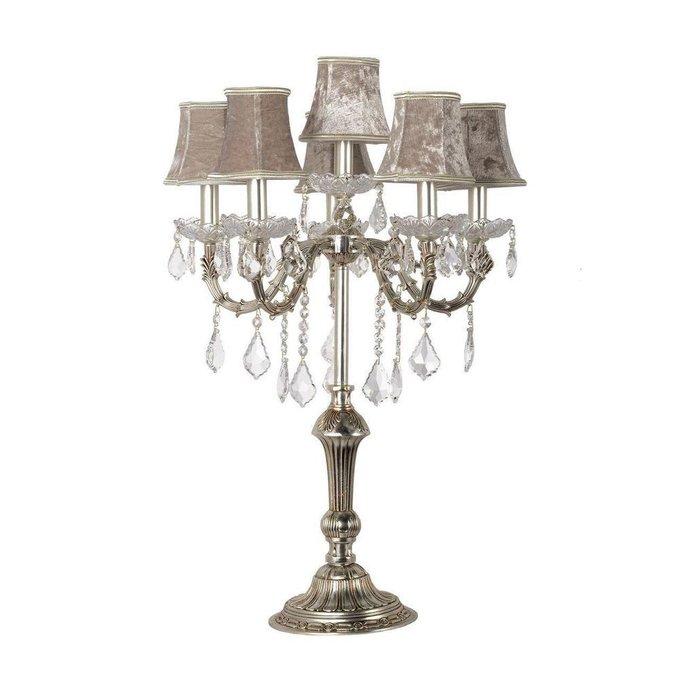Настольная лампа Elite Lucca с хрустальными подвесками
