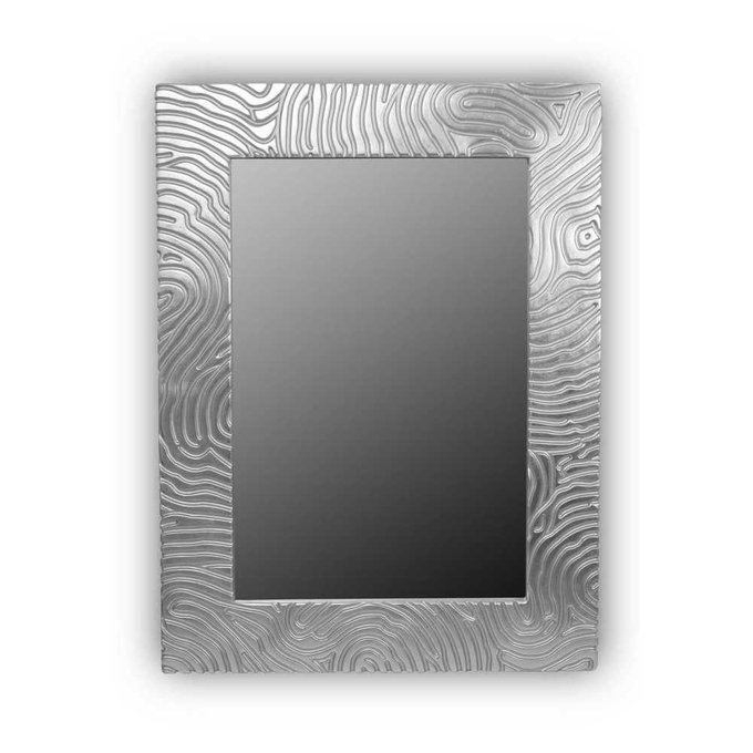 Настенное зеркало FASHION MARK QU silver