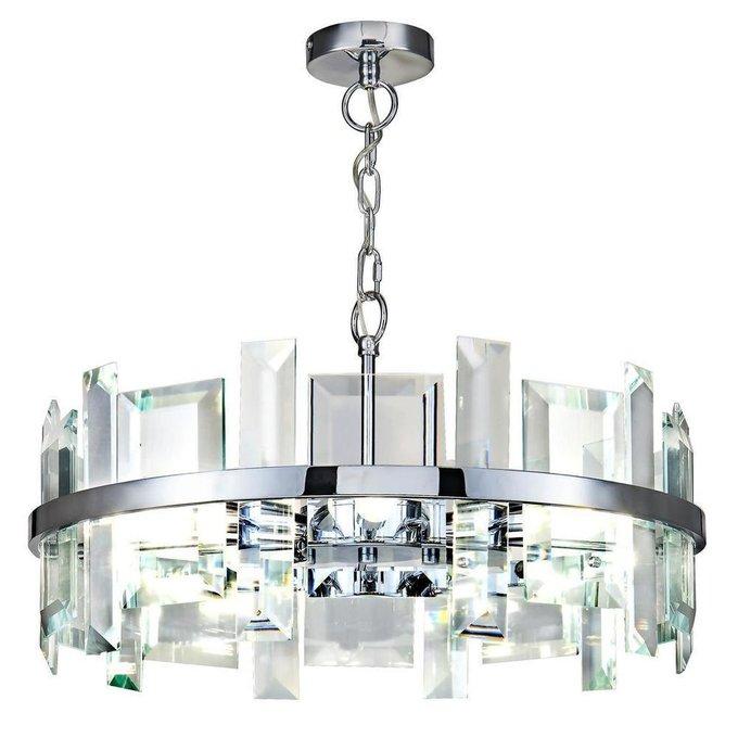Подвесная люстра Cerezo из металла и стекла