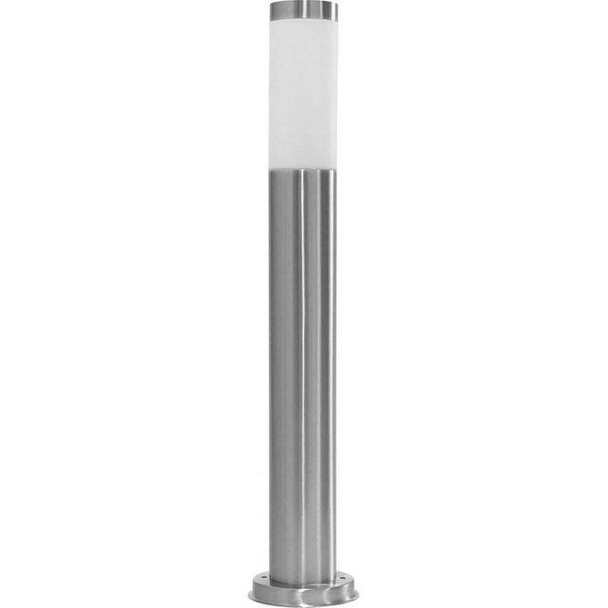 Уличный светильник серебряного цвета