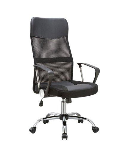 Офисное кресло Top Chairs Benefit черного цвета