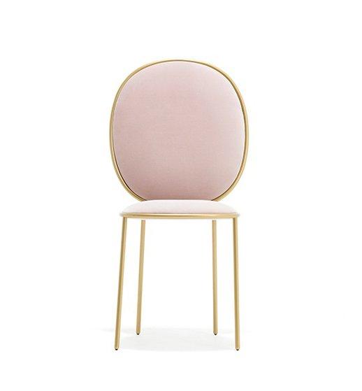 Стул Stay нежно-розового цвета