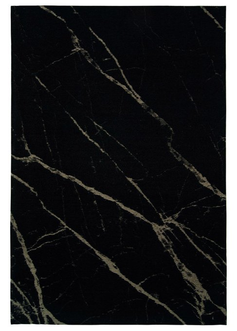Ковер Pietra Black Honey теплого черного цвета 200х300