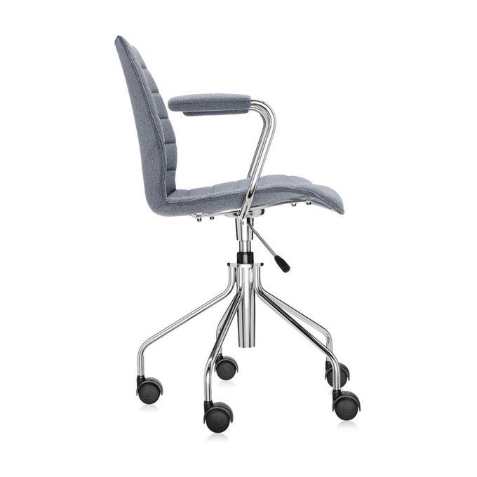Офисный стул Maui Soft серого цвета