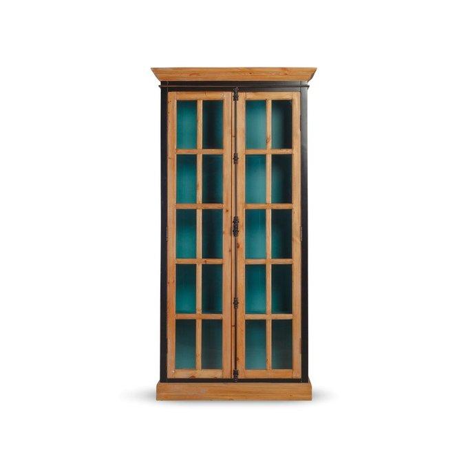 Шкаф France двухдверный со стеклом