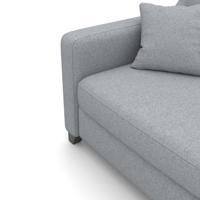 Диван  Mendini MTR (204 см) серого цвета