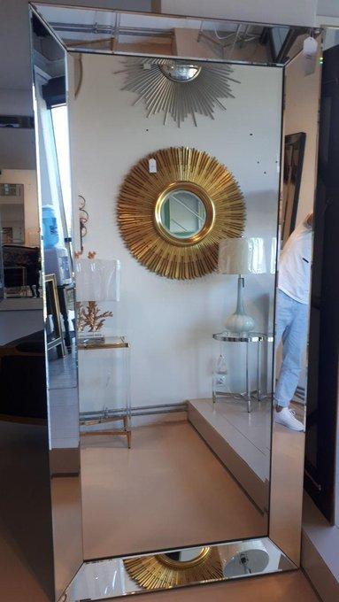 Напольное зеркало Винсан с зеркальной рамой