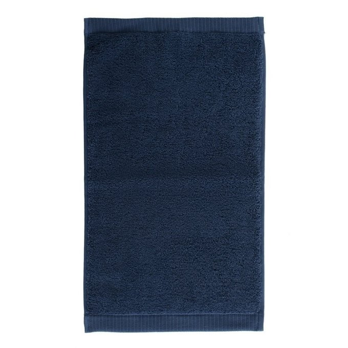 Полотенце для рук темно-синего цвета
