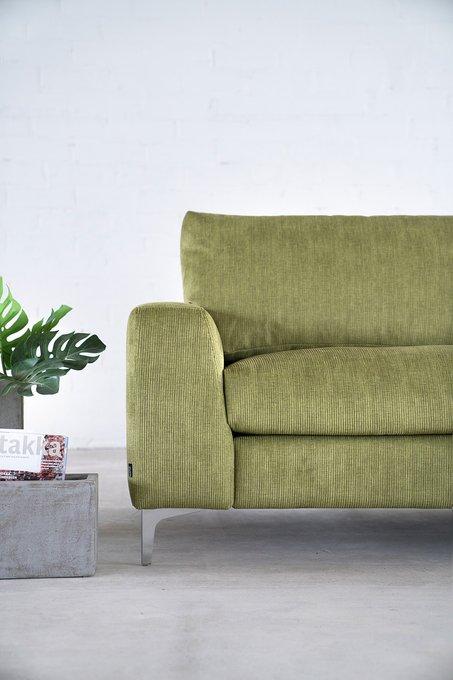 Угловой диван Nordic зеленого цвета