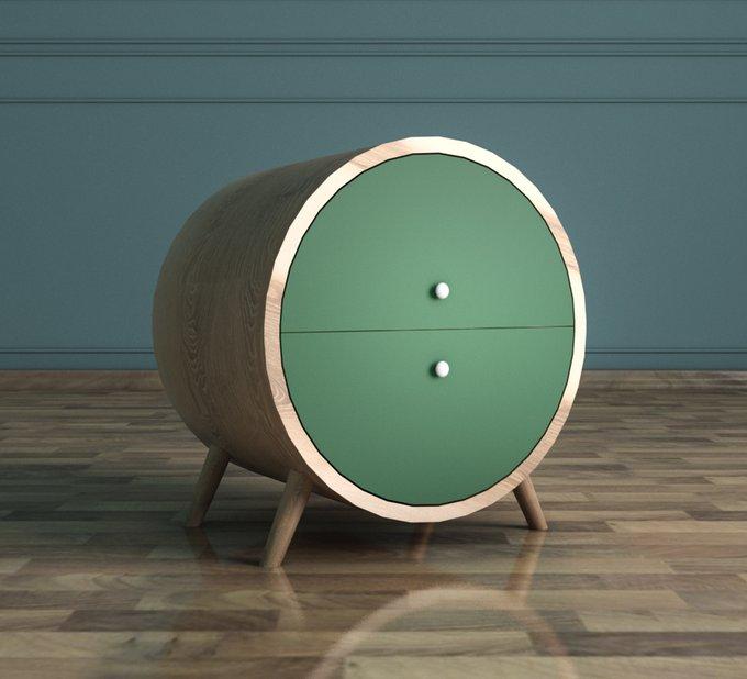 "Тумба ""Ellipse"" круглая с ящиками"