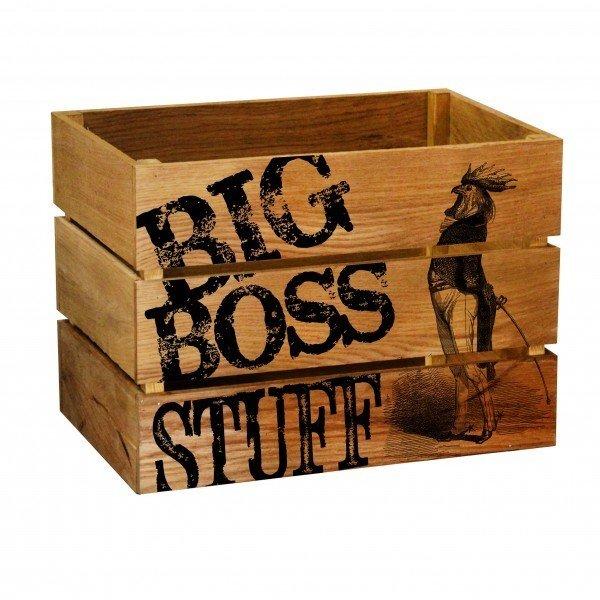 Ящик Big Boss из массива дуба