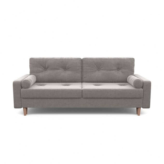 Диван-кровать Дэн серого цвета