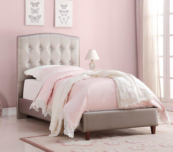 Кровать Donco Kids Twin Princess бежевого цвета 140х200