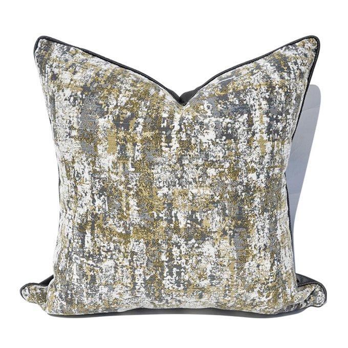 Декоративная подушка Pollok серого цвета