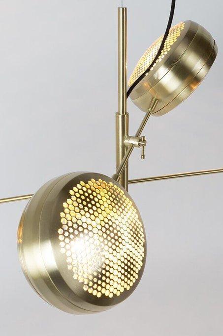 Светильник Gringo Multi Brass золотого цвета