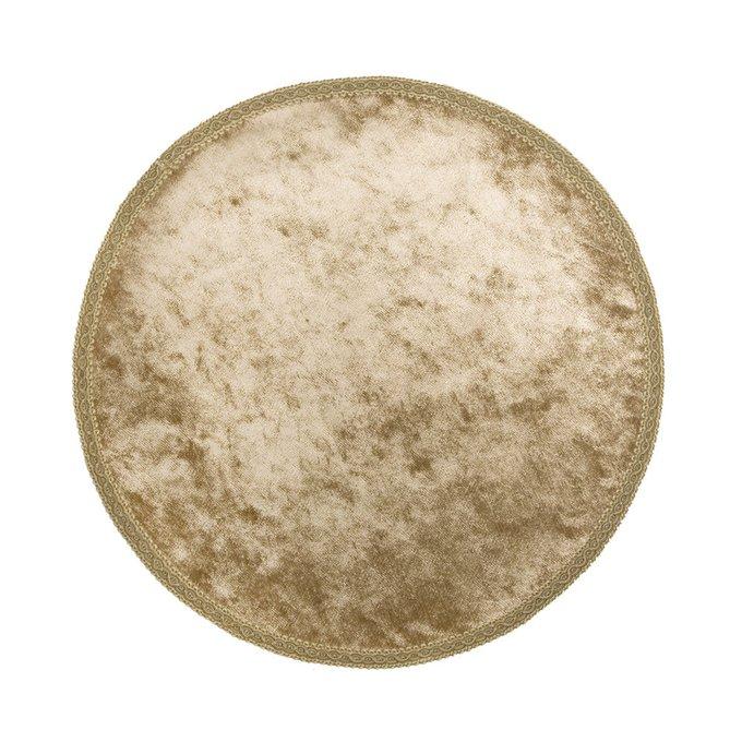Салфетка декоративная круглая с тесьмой Barocco