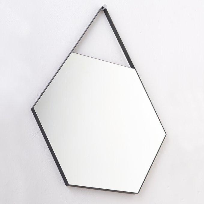 Шестиугольное зеркало на ремне