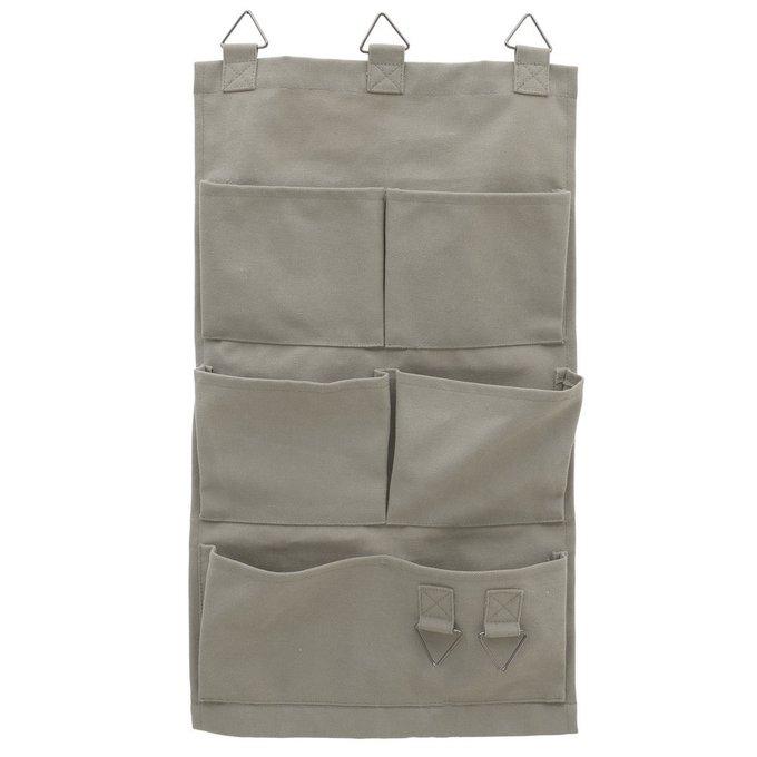 Настенный карман из хлопка и полиэстера