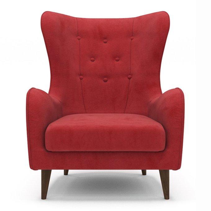 Кресло Montreal красного цвета
