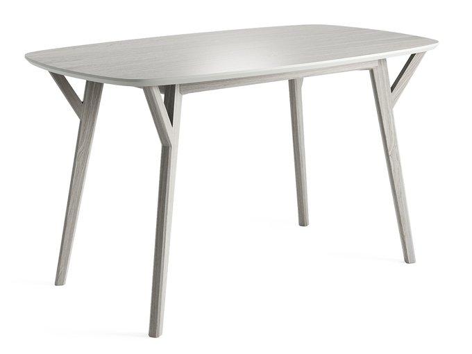 Обеденный стол Proso белёный дуб / молочный