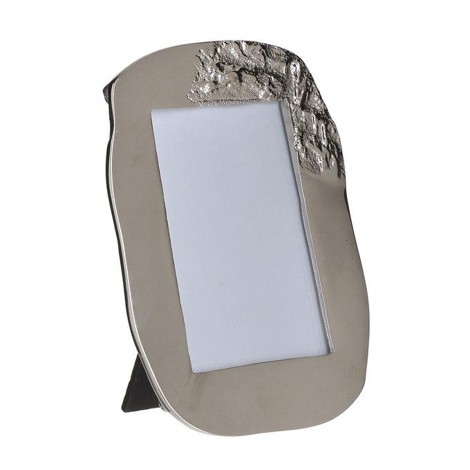 Фоторамка из алюминия серого цвета