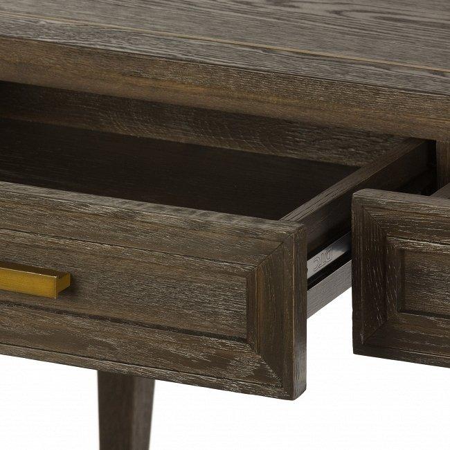 Рабочий стол с двумя выдвижными ящиками