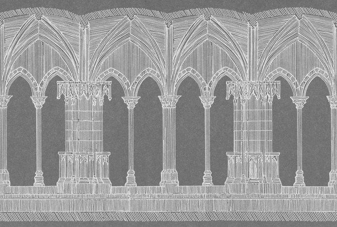 Дизайнерские обои Graphic Arch
