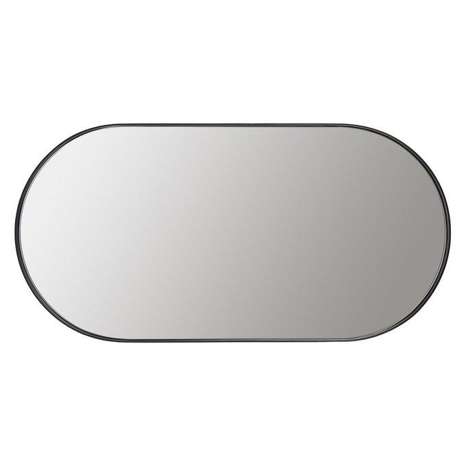 Зеркало настенное Арена в черной раме
