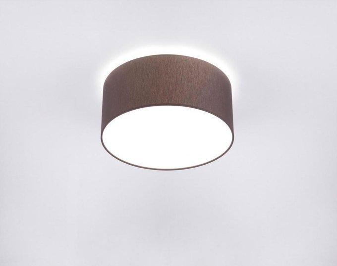 Потолочный светодиодный светильник Cameron коричневого цвета
