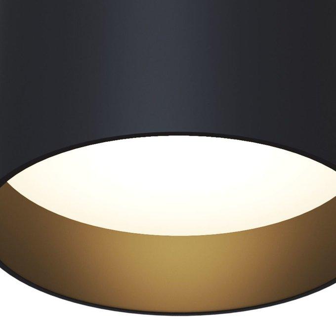 Потолочный светильник Planet черного цвета