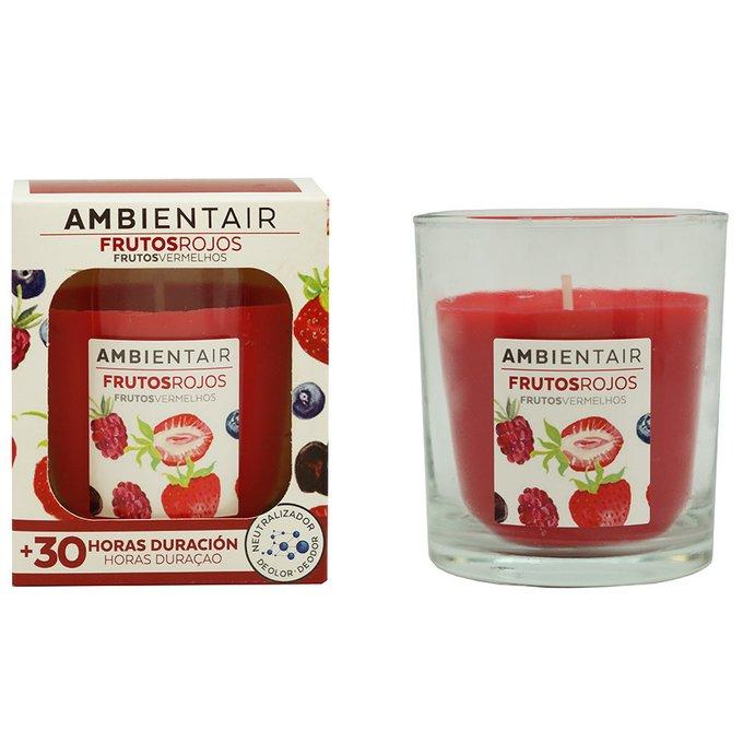 Свеча ароматическая Красные фрукты