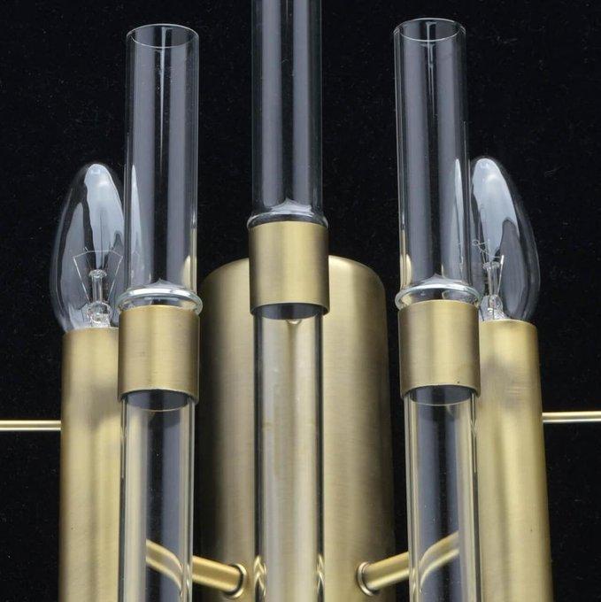 Бра Альгеро со стеклянными трубками