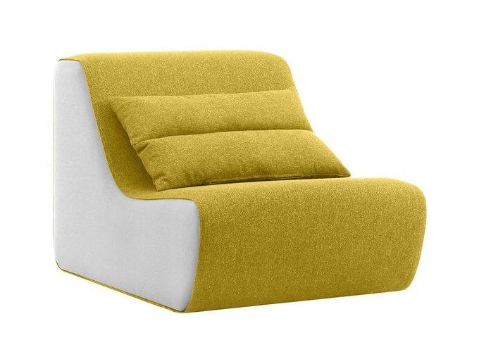 Кресло Neya бело-золотистого цвета
