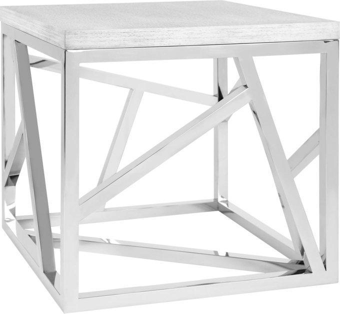Стол журнальный Geometric  из дерева и металла