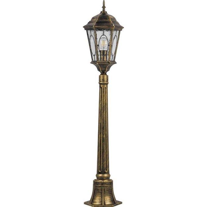 Уличный светильник золотого цвета