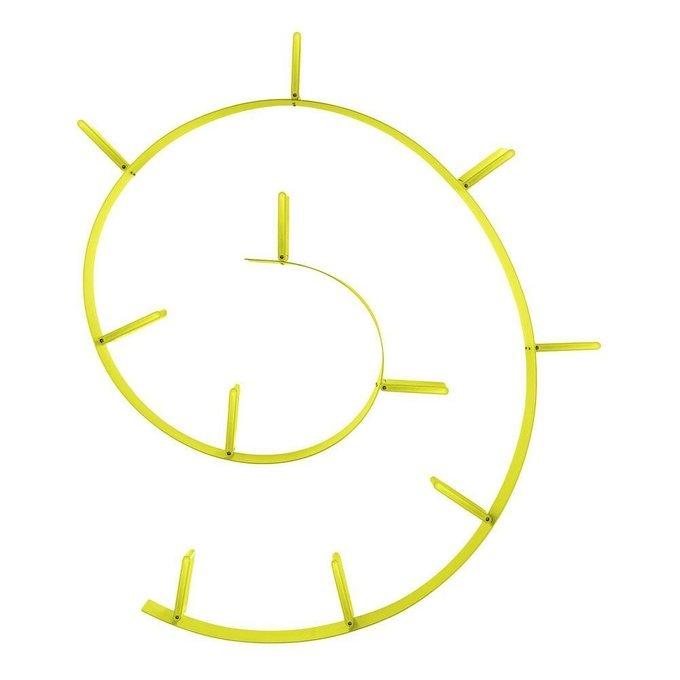 Полка книжная Bookworm желтого цвета