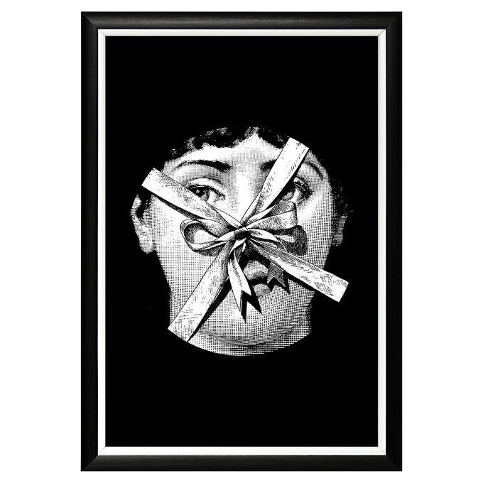 Арт-постер Лина версия Презент в раме из полистирола