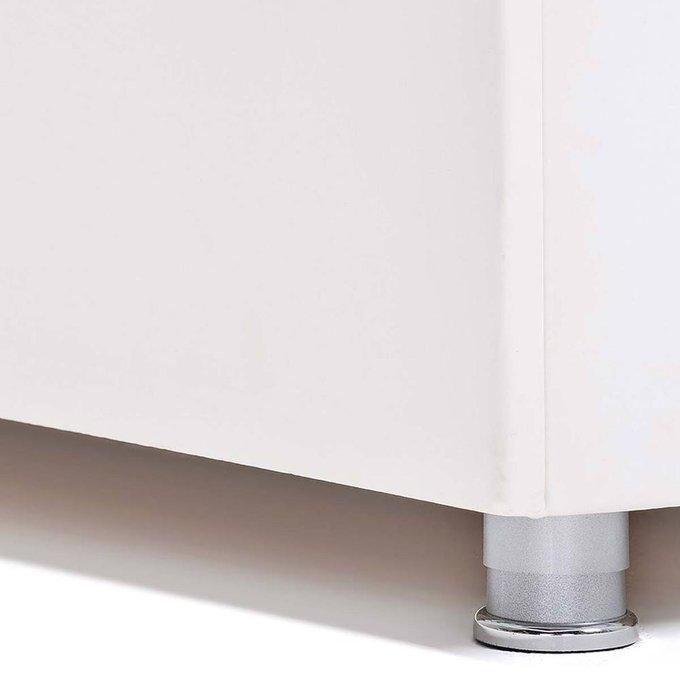 Кровать Гнездо с подъемным механизмом белого цвета 180х200