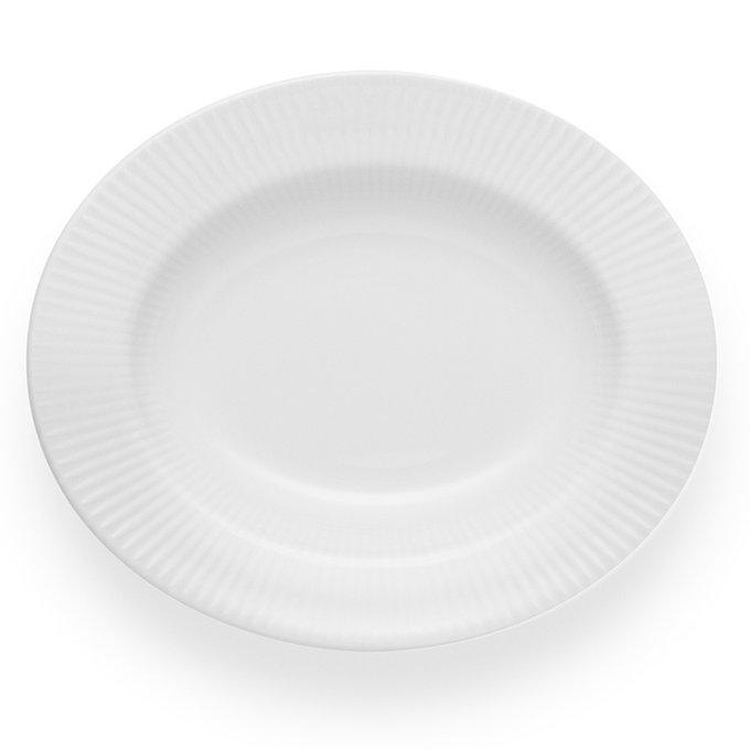 Тарелка Legio Nova белого цвета