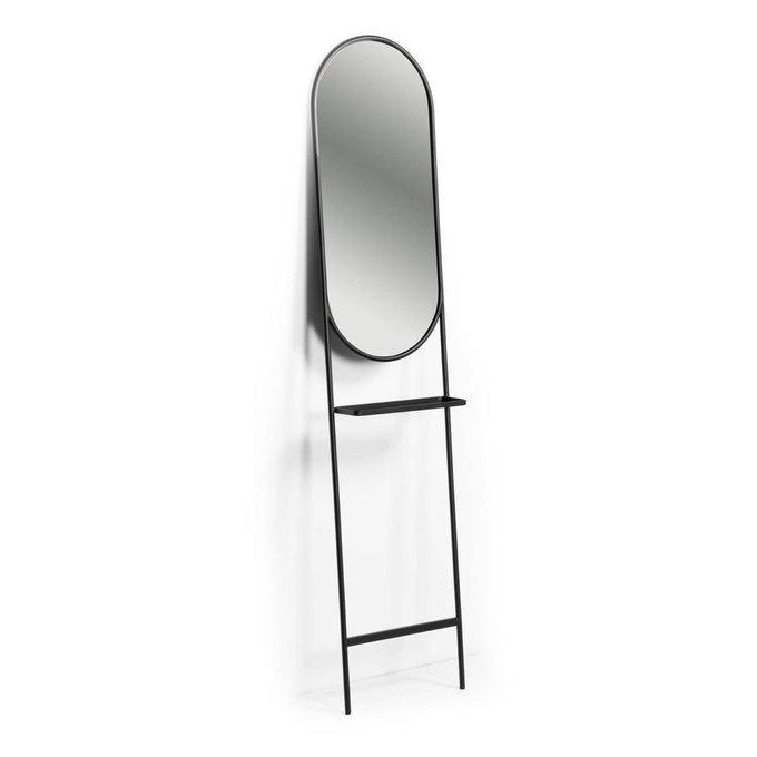 Напольное зеркало Zelma с полочкой