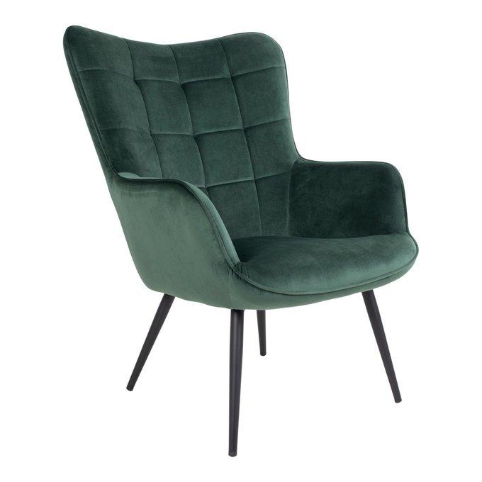 Кресло Dublin зеленого цвета