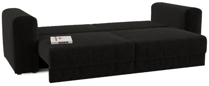Диван-кровать Мэдисон Блэк черного цвета
