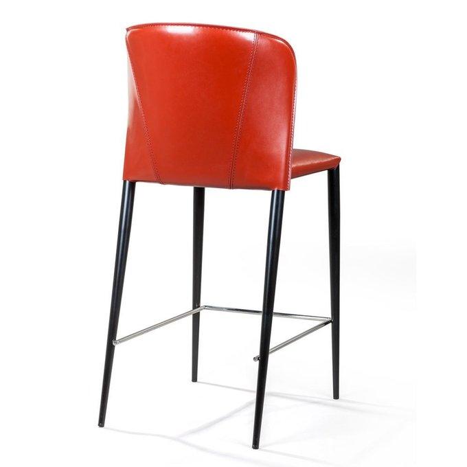 Полубарный стул Albert красного цвета