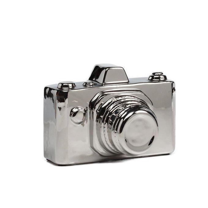 Предмет декора Camera Серебряная