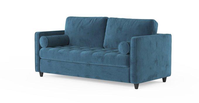 Трехместный раскладной диван Scott SFR  голубой