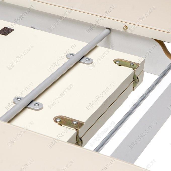Обеденный стол Брис со столешницей кремового цвета