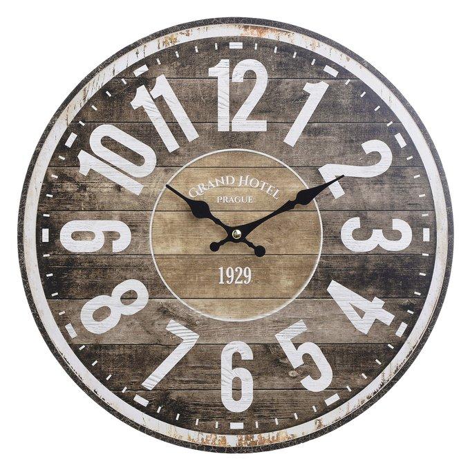 Настенный часы из дерева с кварцевым механизмом