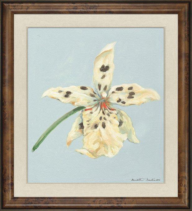 Картина Орхидея в деревянном багете