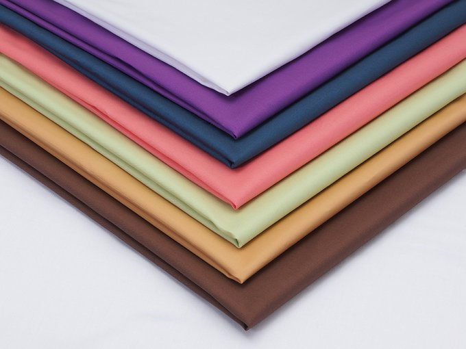 Простыня Plain Collection пурпурного цвета 180х220
