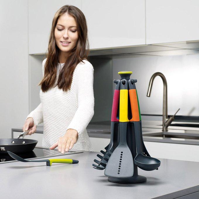 Набор кухонных инструментов elevate carousel multi